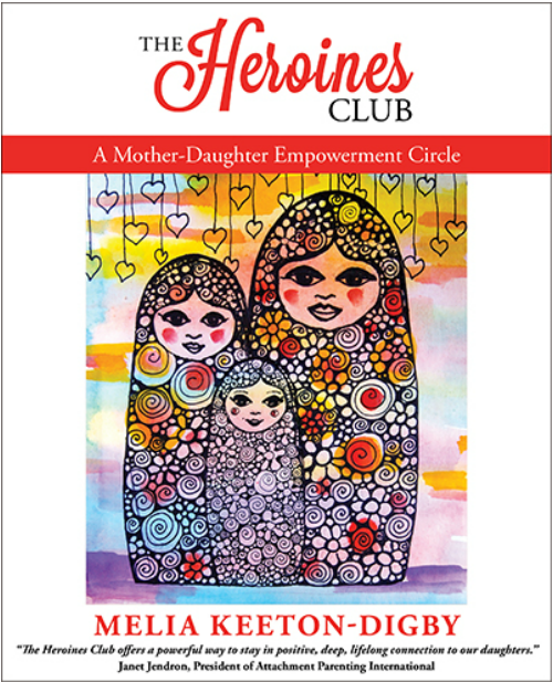 The Heroines Club, by Melia Keeton-Digby featuring Frida Kahlo, Rosalind Franklin, Amelia Earhart, Anne Frank, Maya Angelou and Malala Yousafzai