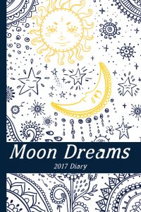 Moon Dreams Diary by Starr Meneely, Womancraft Publishing
