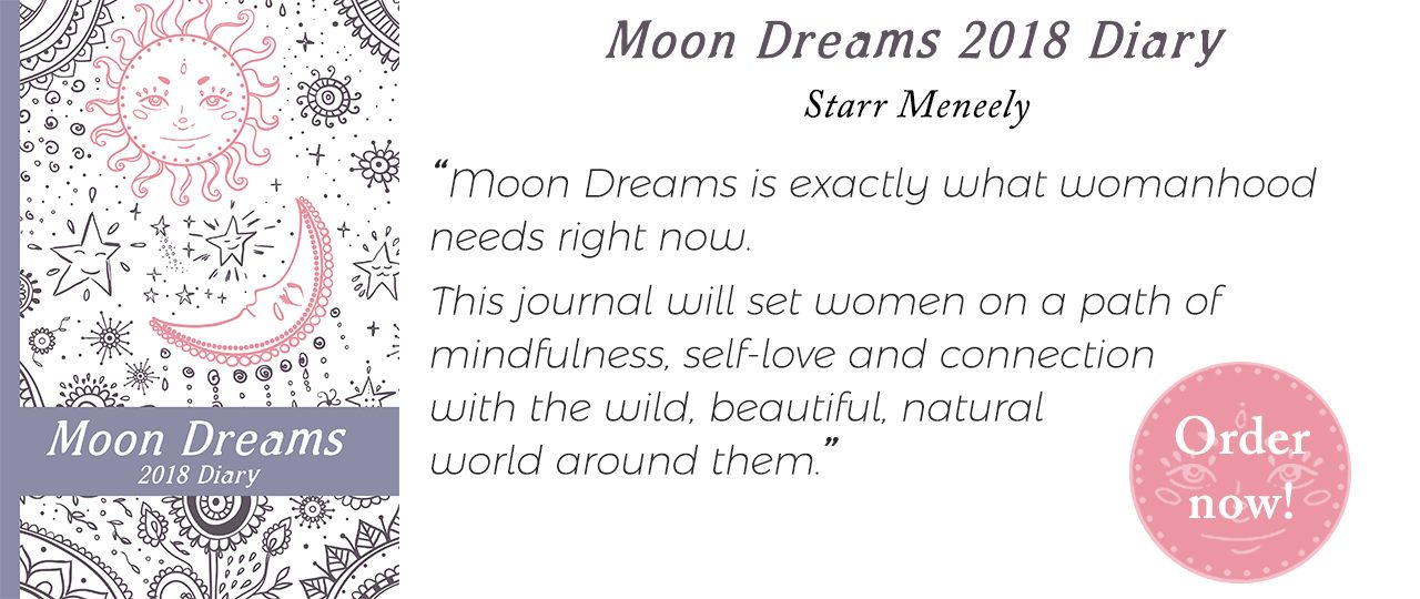 Moon Dreams Diary 2018 by Womancraft Publishing