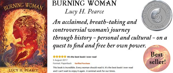 Burning Woman by Lucy H. Pearce, Womancraft Publishing