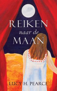 Reaching for the Moon (Dutch) by Lucy H. Pearce, Womancraft Publishing