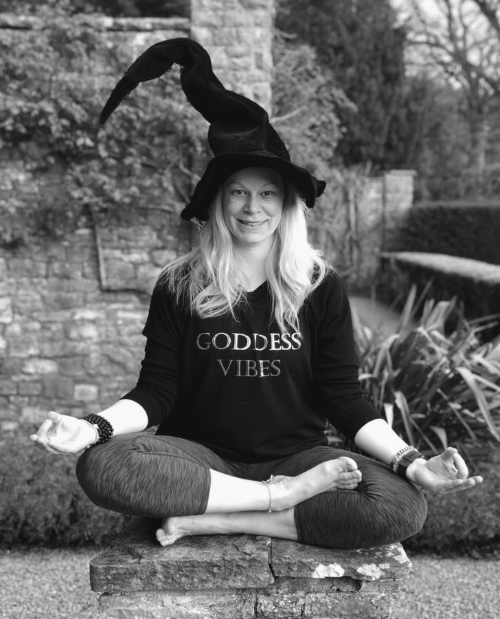 Sarah Robinson author of Yoga for Witches