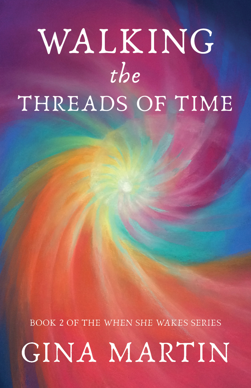 Walking the Threads of Time by Gina Martin, Womancraft Publishing